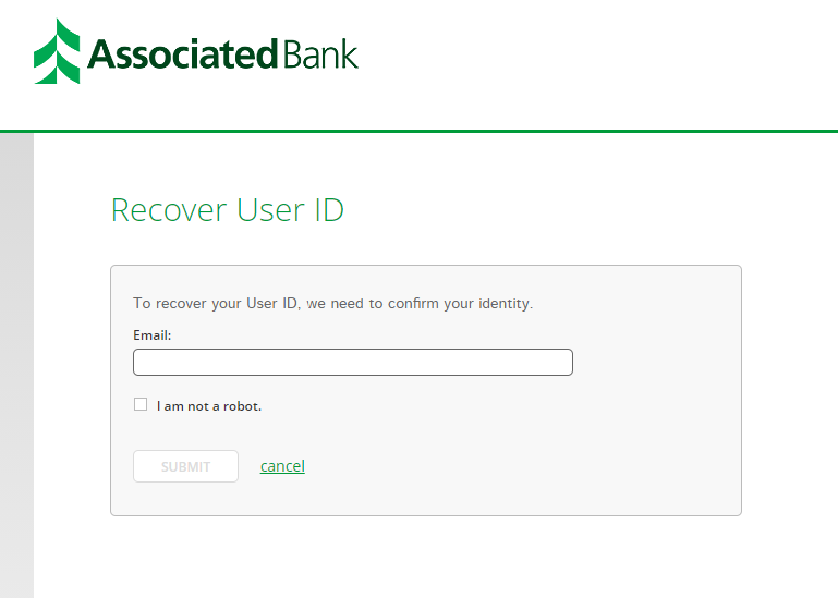 Step 3: Fill in details for recovering username