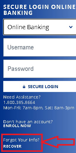 Forgot Your Information- Password Recovery