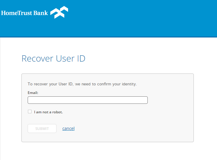 Step 3: Fill in details for User ID