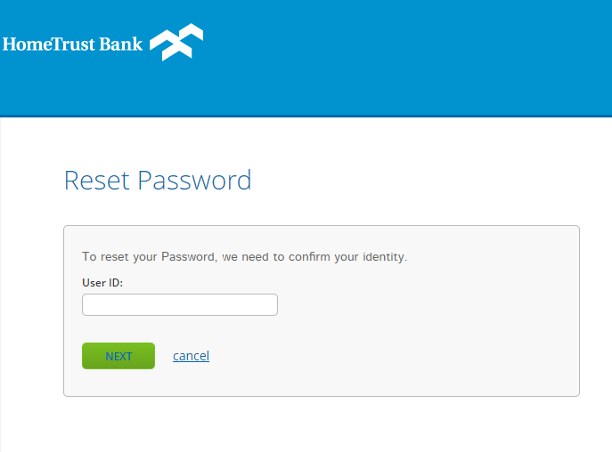 Step 3 : Fill in the details for Password