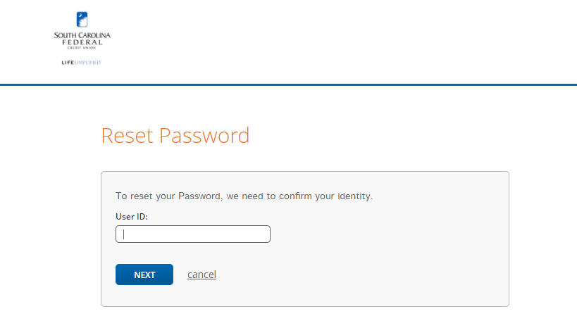 Step 4: Fill details for recovering Password