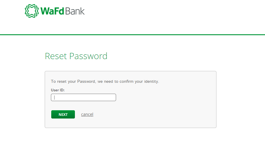 Step 3: Enter your User ID