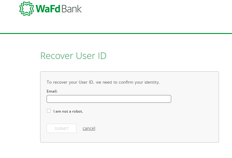 Step 3: Enter your Email ID