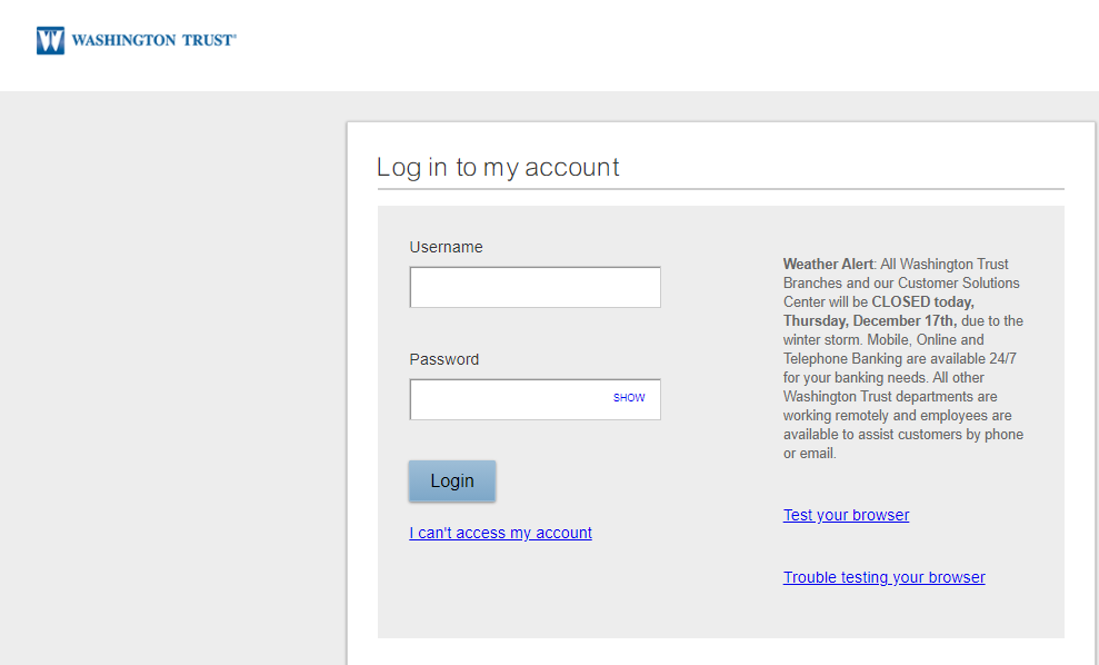 Step 3: Enter username and password for login