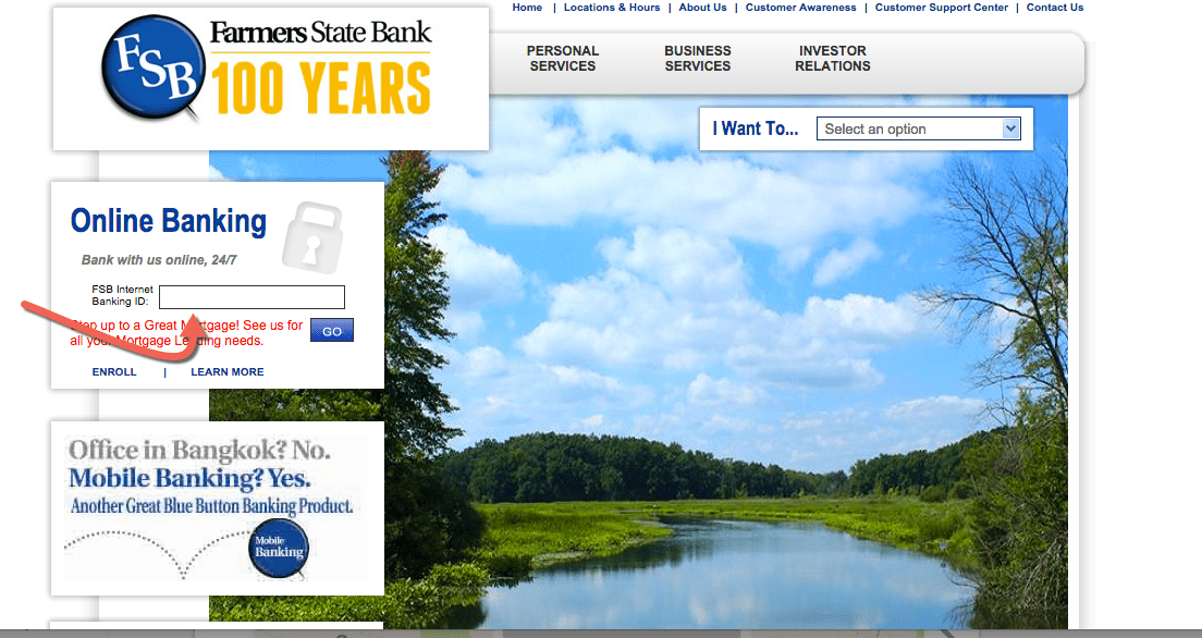 Farmers State Bank Online Banking