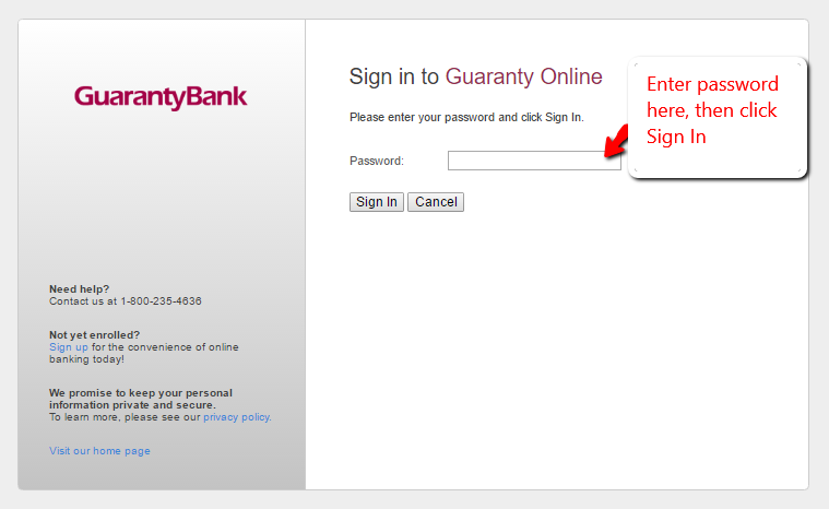 Guaranty Bank Online Banking