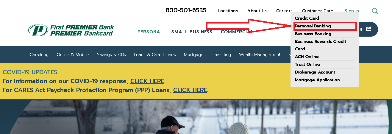 First Premier Bank Online Banking