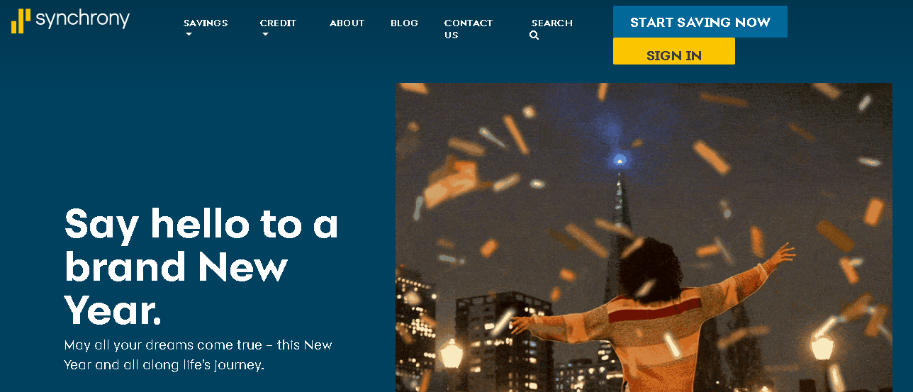 Synchrony Bank Online Banking