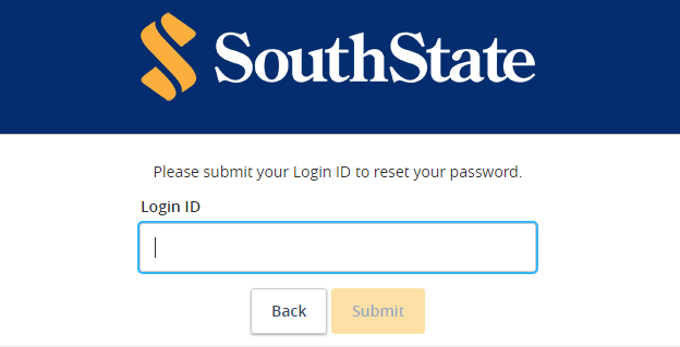 south state forgot password